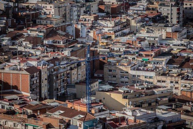 Panormica de la ciutat de Barcelona