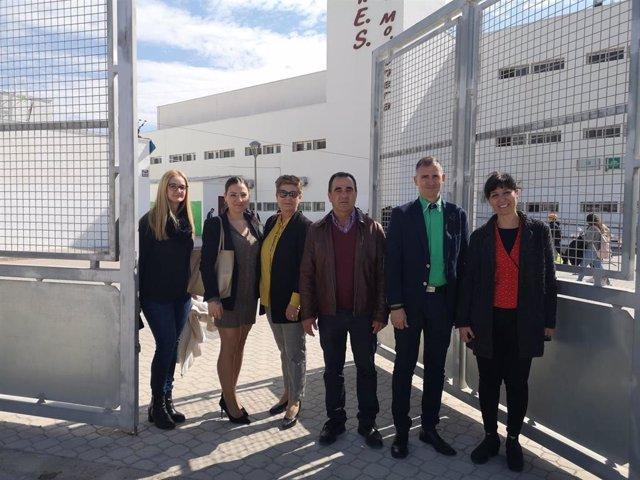 El delegado de Educación visita las XXIII Jornadas Interculturales y Deportivas