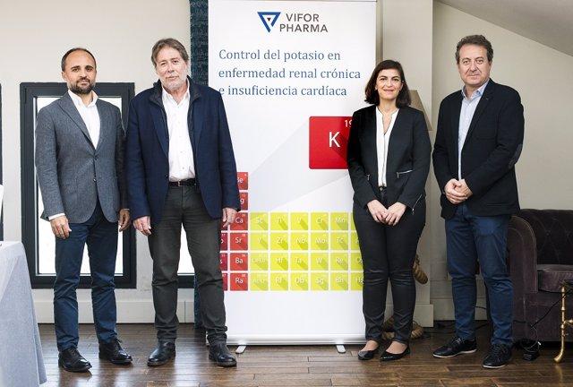 Presentación del lanzamiento de 'Veltassa', primera novedad para tratar la hiperpotasemia crónica en los últimos 60 años