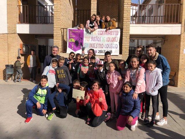 Alumnos del centro Santa Capilla de San Andrés
