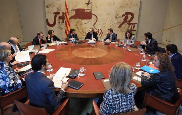 Reunión del Consell Executiu del 25 de febrero de 2020.