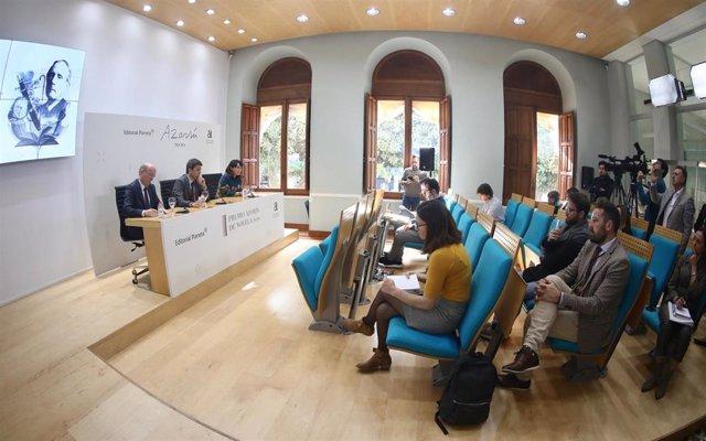 Presentación del premio Azorín 2020.