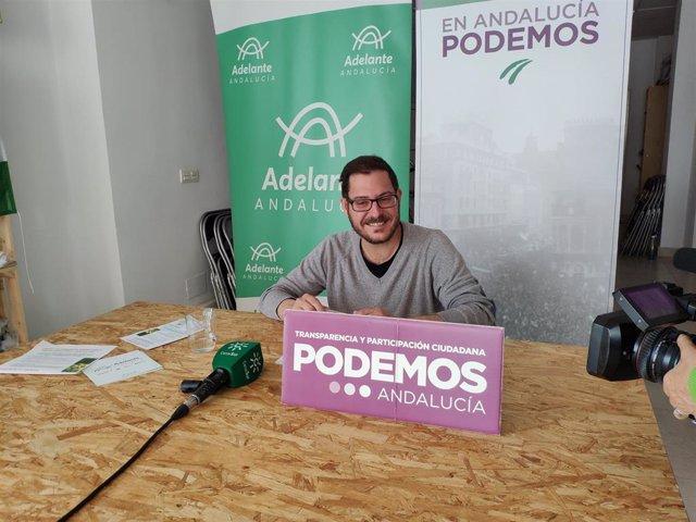 El parlamentario andaluz de Adelante Andalucía por Almería, Diego Crespo