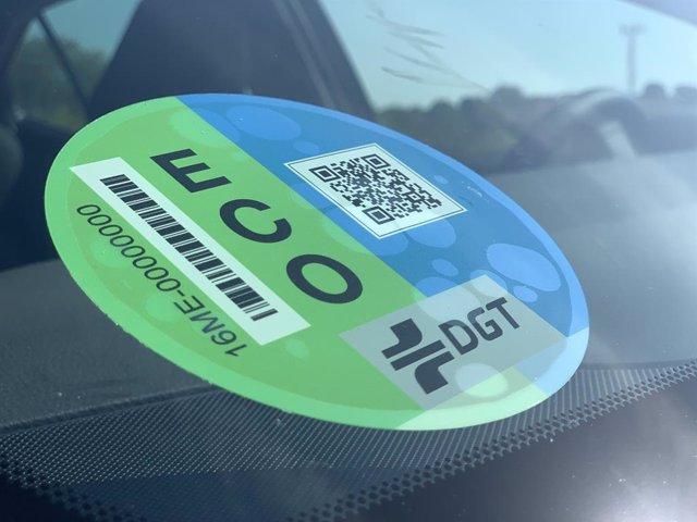 Etiqueta ECO de la Direcció General de Trnsit (DGT)