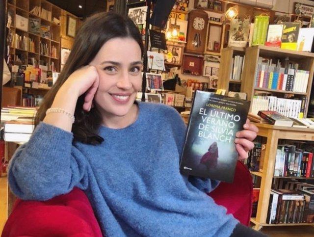 La escritora Lorena Franco