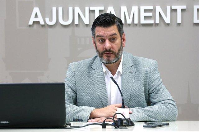 El concejal del Ayuntamiento de València Carlos Galiana.