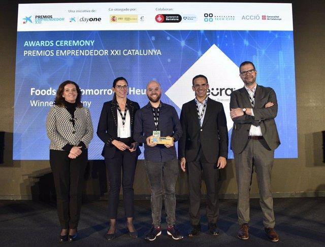 Ana Díez Fontana, María Alsina, Marc Coloma, Jaume Masana y Jordi García