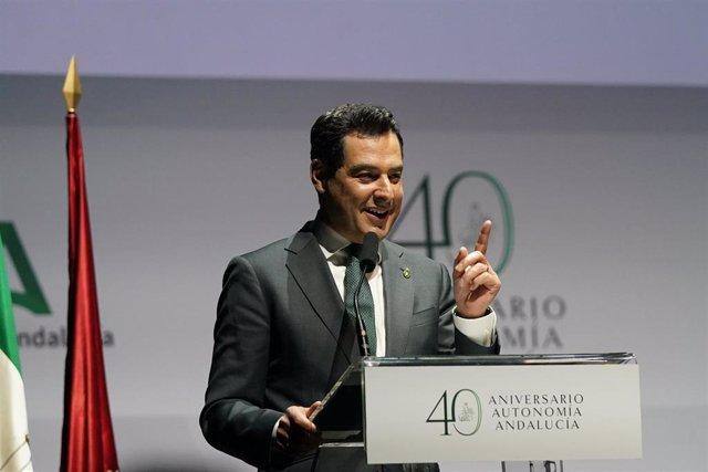[Grupohuelva] Nota De Prensa Del Presidente Juanma Moreno En El Acto De Conmemoración Del 28F En Madrid