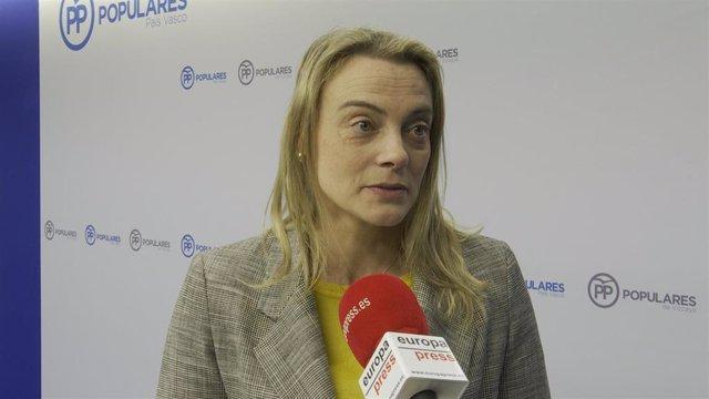 """VÍDEO: González (PP vasco) llama a """"todos"""" los votantes de centro derecha a aglutinar el voto en torno a Iturgaiz"""