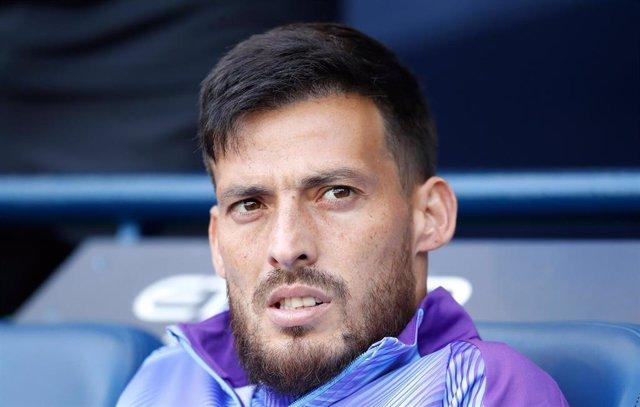 El jugador del Manchester City David Silva