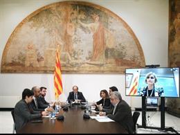 La reunión del Govern de seguimiento del coronavirus