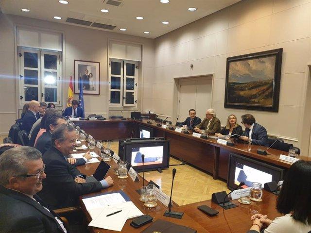Reunión entre Estado, Junta y ayuntamientos por la variante de Aguadulce (Sevilla)