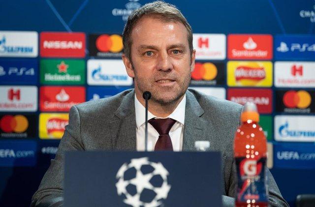 El entrenador dle Bayern Múnich Hansi Flick