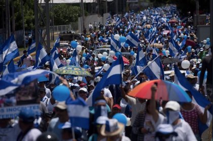 AMP.- Nicaragua.- Periodistas nicaragüenses denuncian agresiones por parte de la Policía durante un piquete en Managua