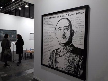 Rey Felipe.- Franco y el Rey emérito repiten en una nueva edición de ARCO que rebaja la polémica de ediciones pasadas