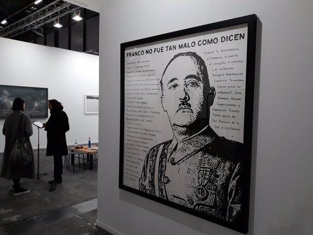 Franco y el Rey emérito repiten en una nueva edición de ARCO que rebaja la polém