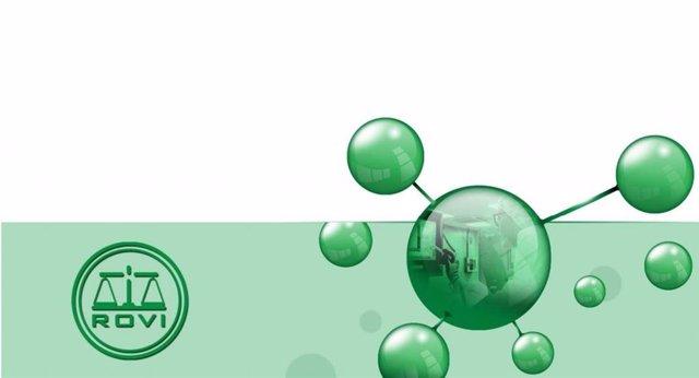 Imagen de recurso con el logo de Laboratorios Farmacéuticos Rovi.
