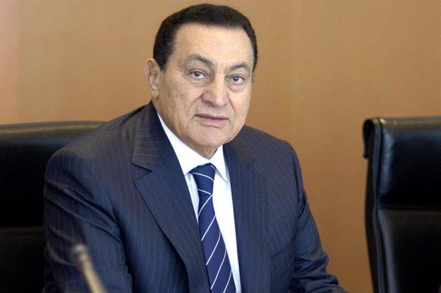 Hosni Mubarak en una imagen de archivo