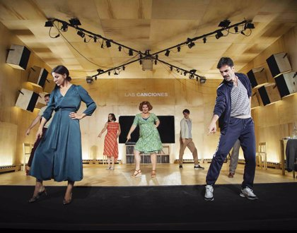Argentina.- Teatro Kamikaze regresa al TCM con 'Las canciones', un texto de Pablo Messiez basado en personajes de Chéjov