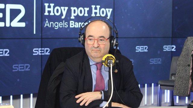 Entrevista al primer secretario del PSC, Miquel Iceta