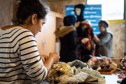 La Fábrica de Tapices acoge este viernes un desfile de moda sostenible confeccionada por mujeres magrebíes de la Cañada