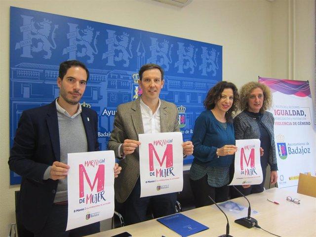 Presentación de las actividades del IMSS del 8 de marzo