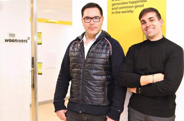 Antonio Cantalapiedra y Abel Navajas, cofundadores de Woonivers