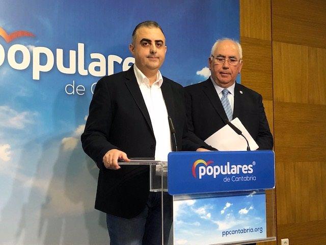 Roberto Media y Adolfo Izaguirre