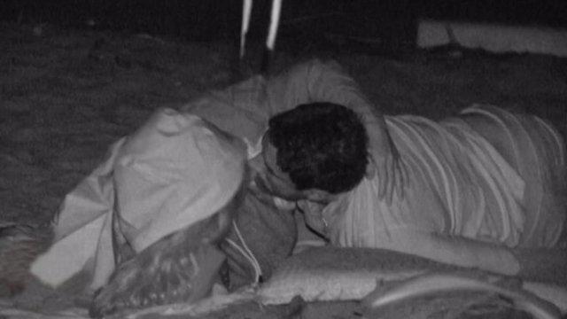 Hugo e Ivana se besan apasionadamente en 'Supervivientes 2020'