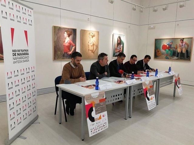 Presentación de la programación del circuito de la Red de Teatros de Navarra