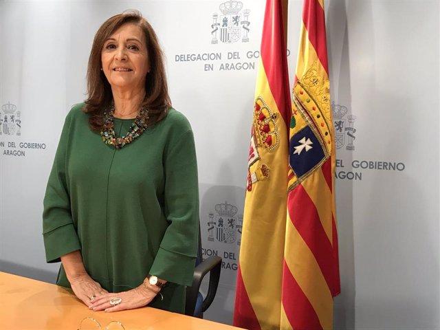 Carmen Sánchez, directora general de Interior y Protección Civil del Gobierno de Aragón.