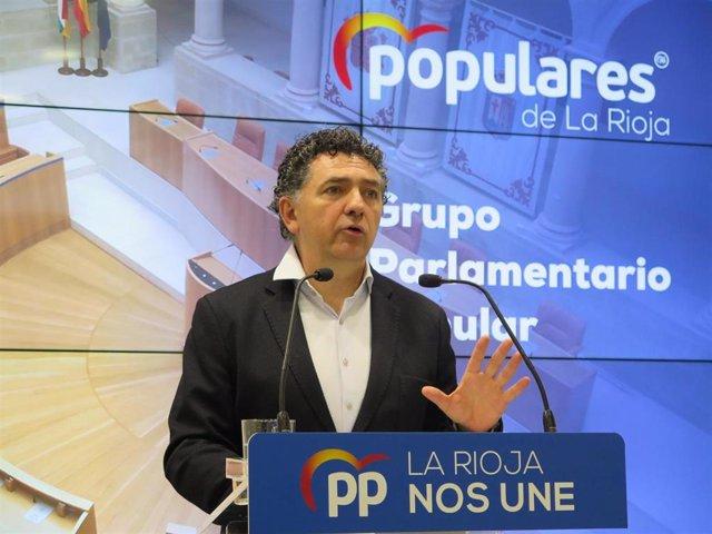 Diputado autonómico del PP, Carlos Cuevas