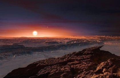 Vientos estelares no extremos, compatibles con la vida en Próxima b