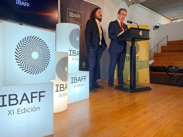 El concejal de Cultura y Recuperación del Patrimonio, Jesús Pacheco, presenta el Ibaff