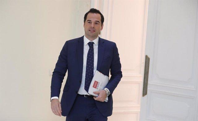 Ignacio Aguado, vivecepresidente de la Comunidad de Madrid.