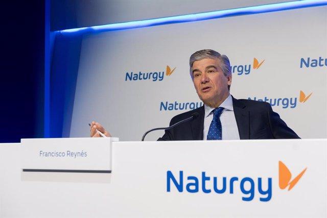 Francisco Reynés, president de Naturgy, en una imatge d'arxiu.