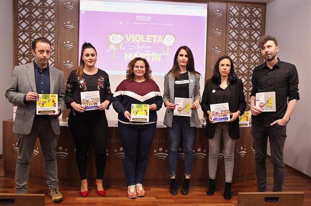 Presentación de una web en La Siberia extremeña sobre cuentos destinados a la igualdad de género