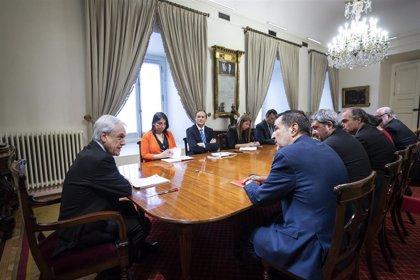 Chile.- Piñera se reúne con autoridades electorales en el arranque de la campaña para la consulta constitucional