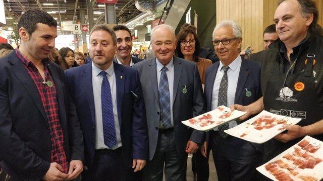 El diputado de la DPH, Fernando Sánchez, participa en el Salón Internacional de Agricultura de París.