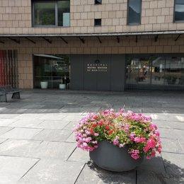 L'Hospital Nostra Senyora de Meritxell on es troben aïllades les dues persones.