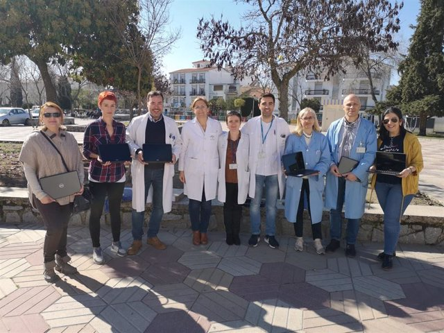 Enfermeros gestores de casos del Área Sanitaria Norte de Córdoba