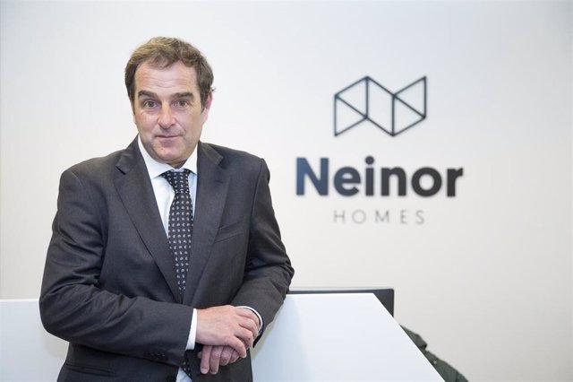 El consejero delegado de Neinor Homes, Borja García-Egotxeaga.