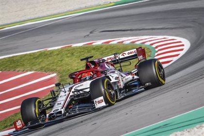 Kubica (Alfa Romeo) revive sus mejores días con el mejor tiempo en el regreso del test a Montmeló