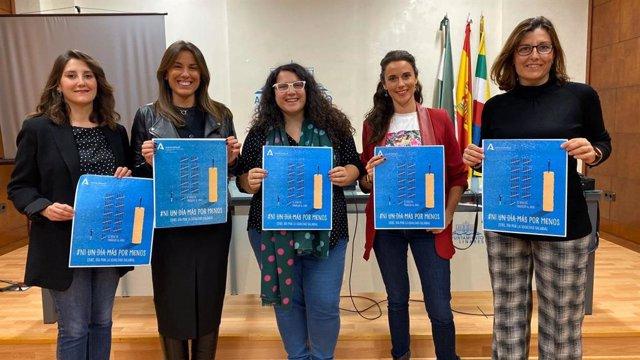 El Instituto Andaluz de la Mujer presenta la campaña 'Ni Un Día Más Por Menos'