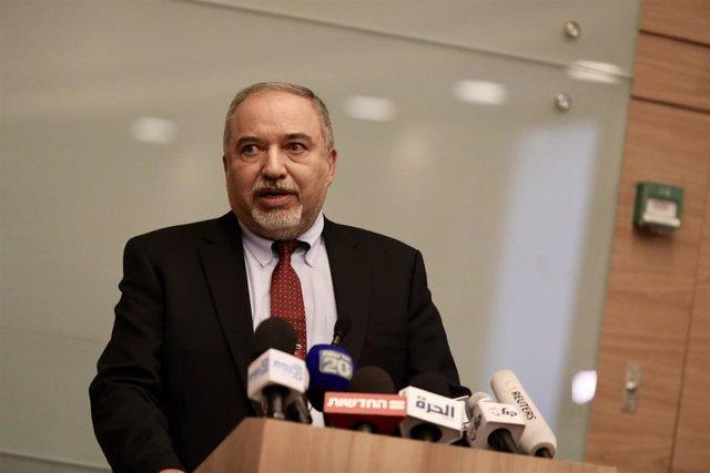 El líder de Yisrael Beitenu, Avigdor Lieberman