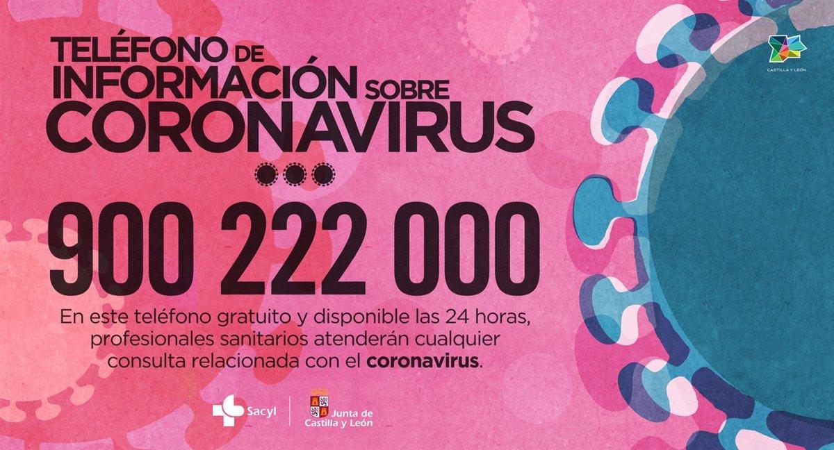 Resultado de imagen de cartel coronavirus castilla y leon