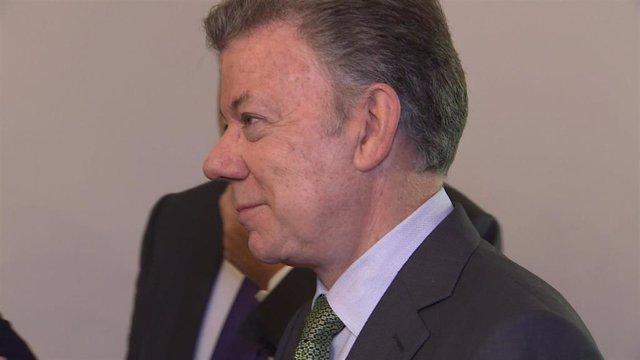 El expresidente de Colombia, Juan Manuel Santos.