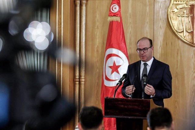 El primer ministro designado de Túnez, Elies Fajfaj