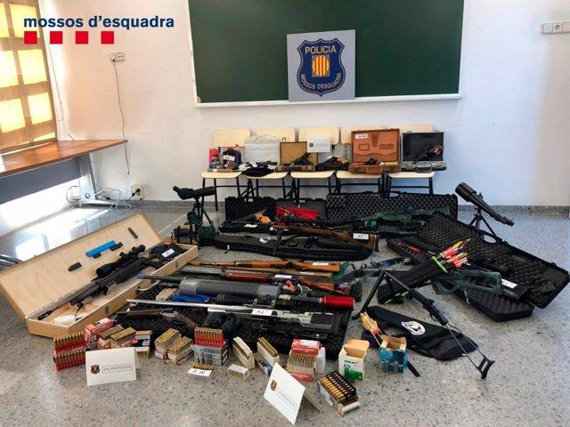 Los Mossoscapturan en Terrassaa un veterano tirador que quería atentar contrael presidente del Gobierno