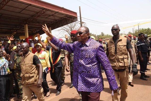 Guinea.- Condé rechaza recibir a una delegación de la CEDEAO que buscaba mediar